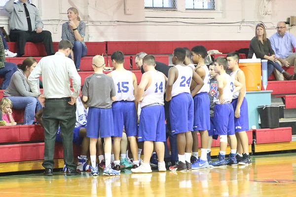 Middle School Basketball vs. STAB