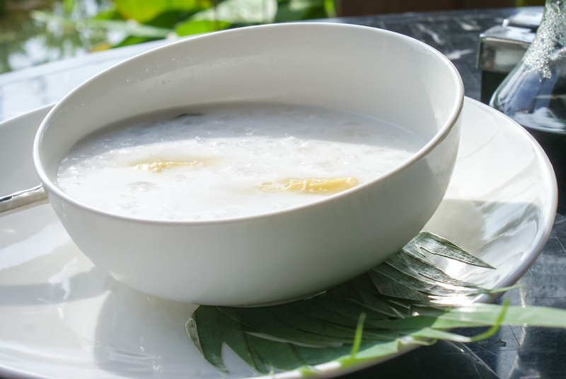 Thai Banana with Coconut Milk