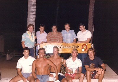 1986 Water Polo Team