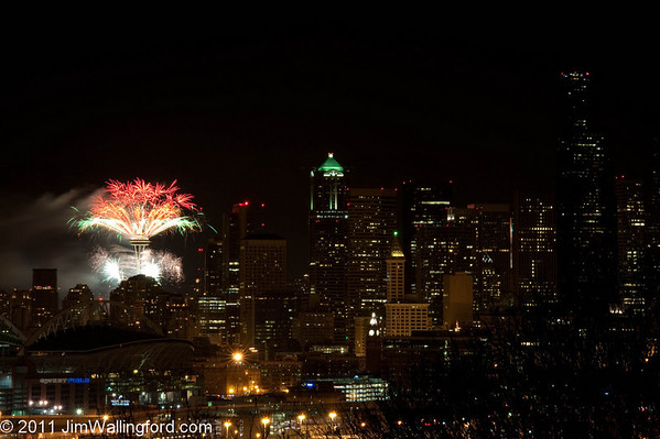 New Years Space Needle 2010-2011