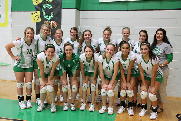 2013-Sep JV Green Volleyball