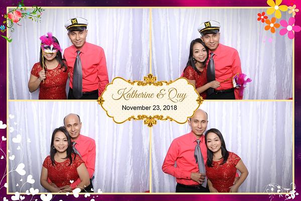 Katherine & Quy