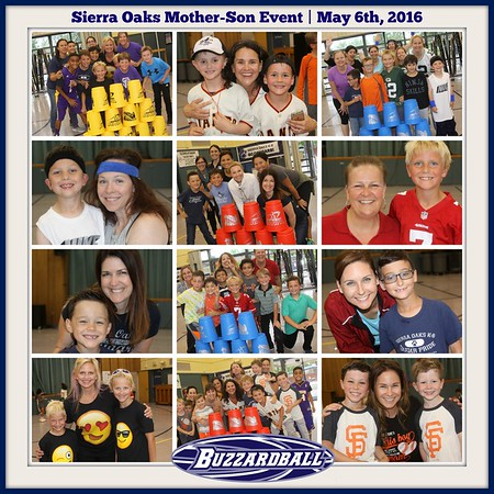 MAY 6TH, 2016 | Sierra Oaks Mother-Son Event