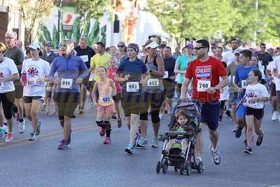 2 Mile Start - 2016 BOYNE INDEPENDENCE DAY RUN