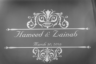 The Wedding of Hameed & Zainab ~ Bella Sera