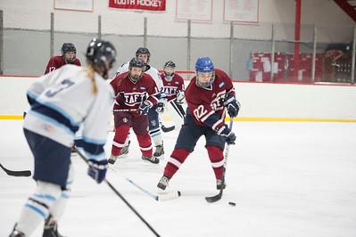2/13/16: Girls' Thirds Hockey v Canterbury
