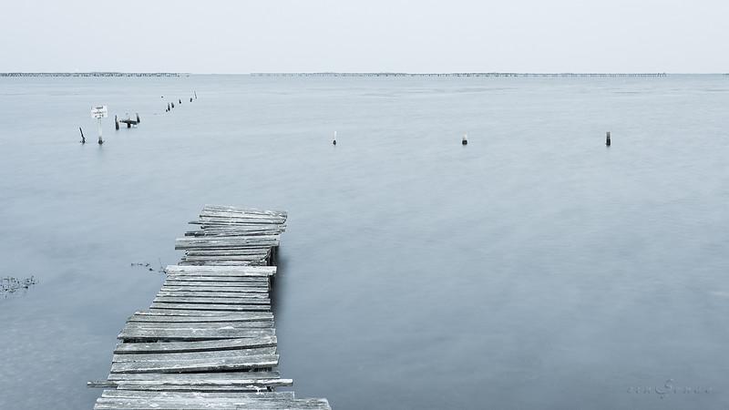 Blue dock V