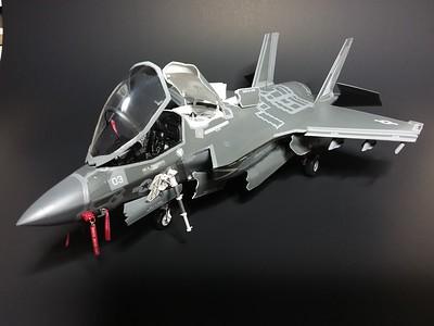 F-35B  Final inspection