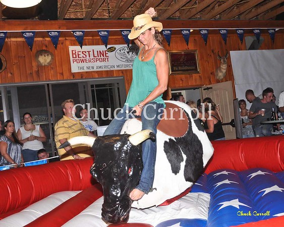 --  Mechanical Bull Riding - PA Roadhouse  --  August 7,2009