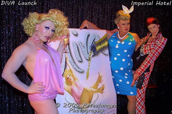 DIVA - Launch - 5th Jul 2004