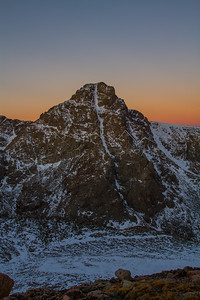 Mt. of the Holy Cross from Notch Mtn at sunrise