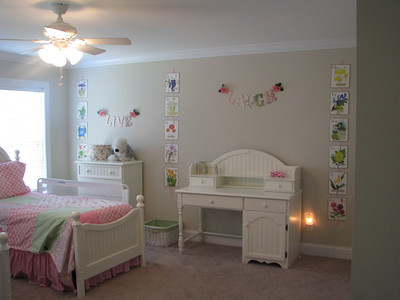 Hannah's big girl room!