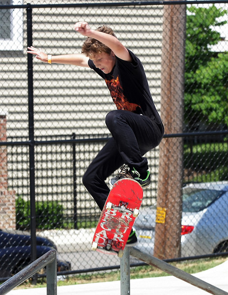 PhillyAm skateboard competition