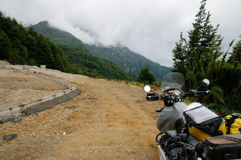 Roadwok on Carretera Austral
