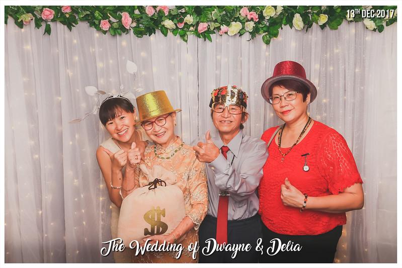 Wedding of Dwayne & Delia   © www.SRSLYPhotobooth.sg