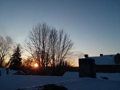 2018 sunrises and sunsets