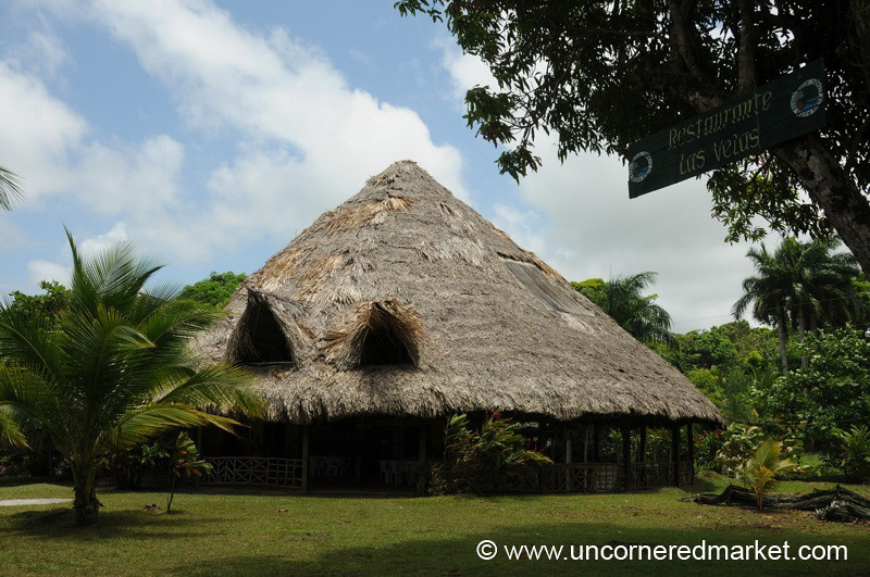Thatched Hut - Livingston, Guatemala