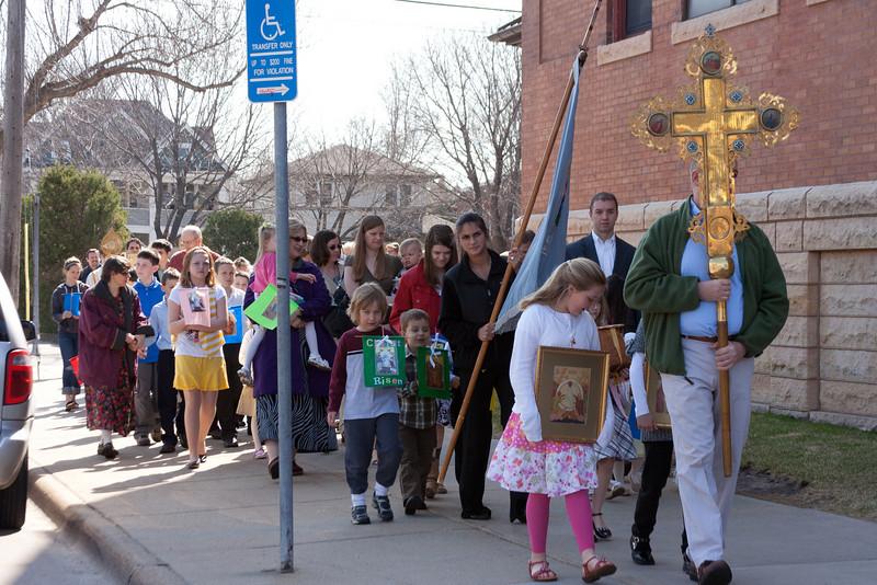 Bright Monday Liturgy 2011