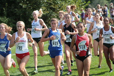 Womens College - 2018 Auto Owners Spartan Invitational XC