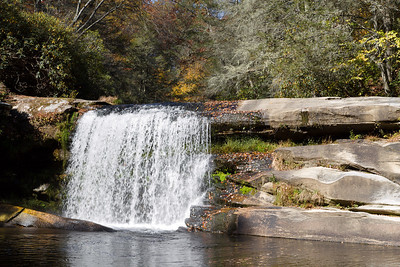 French Broad, Mill Shoals & Bird Rock Falls