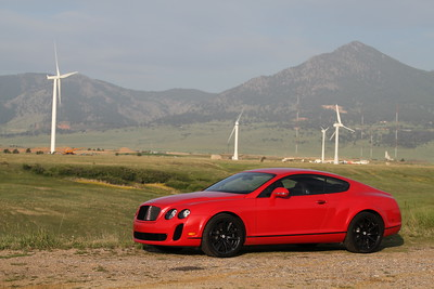 Bentley Continental Supersports, 2010