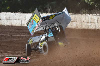 Ransomville Speedway - World Of Outlaws - 7/30/21 - Paul Arch