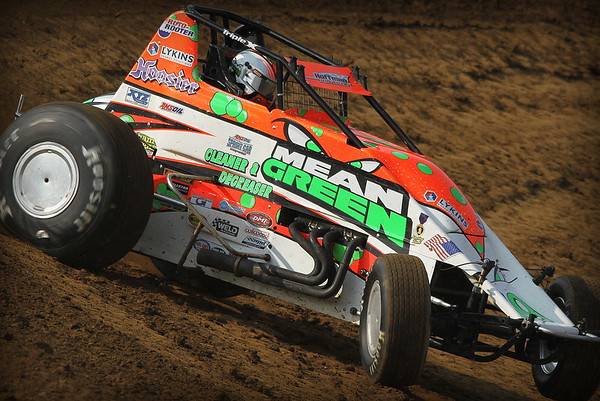 Brownstown Speedway; USAC Sprint Car Series 5-21-16