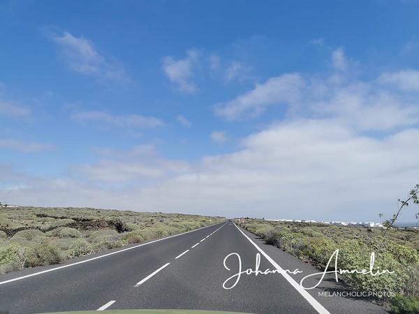 Lanzarote autolla