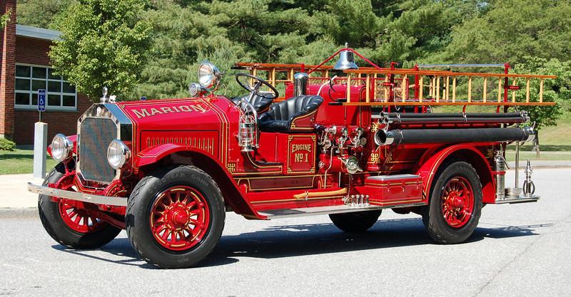 RETIRED  Engine 1 1926 Maxim