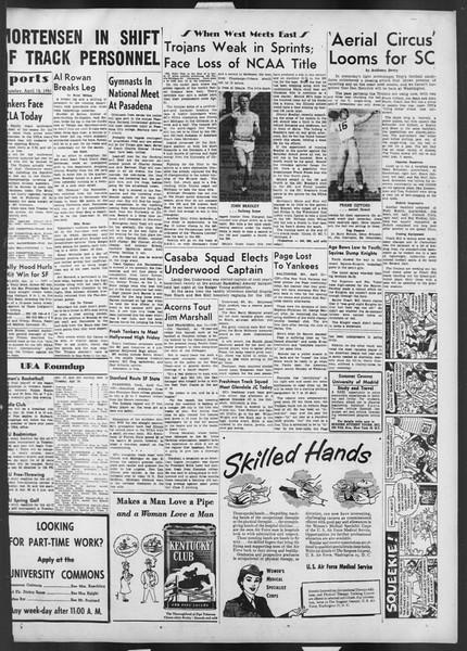 Daily Trojan, Vol. 42, No. 107, April 12, 1951