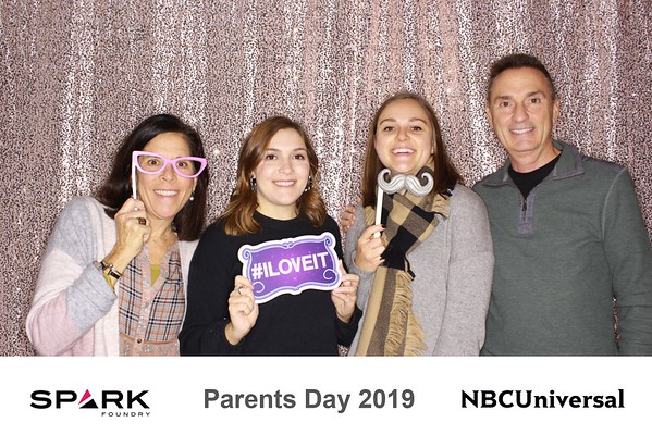 "NBCUniversal & Spark Foundry ""Parents Day 2019"""