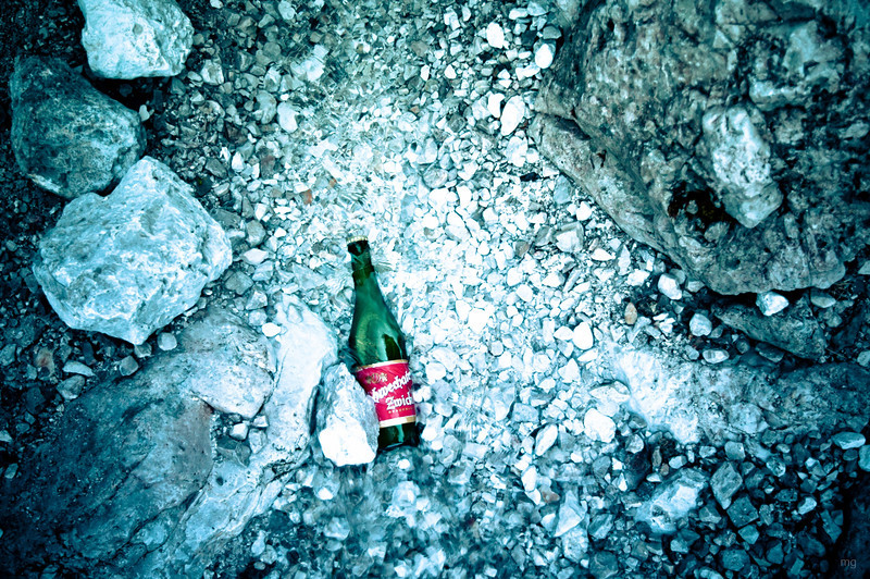 Zwickl + (eis)kaltes Wasser = perfektes Bier