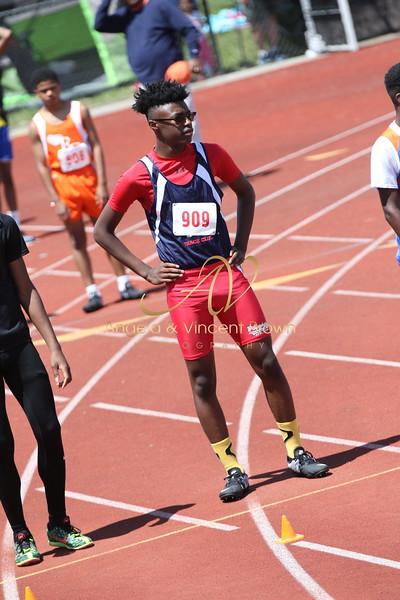 Champs: 13-14 Boys 100M Trials
