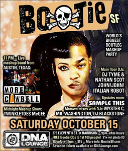 Bootie SF with More Cowbell 10-15-11 ii of ii
