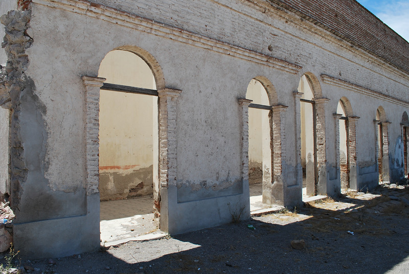 side building of Mission San Luis Gonzaga