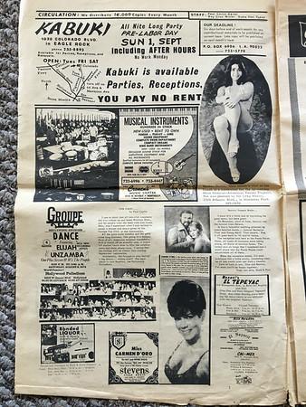 FREE GRAPEVINE NEWSPAPER