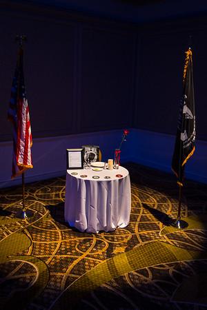 18-D Banquet POW Table