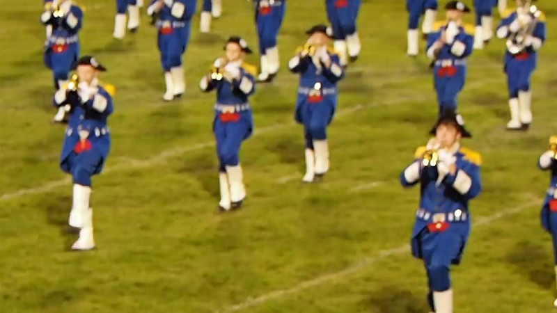 Marching Generals, Showcase of Bands, Sept. 28, 21013