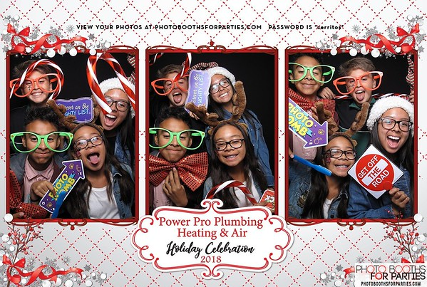Power Pro Plumbing Heating & Air Holiday Celebration 2018