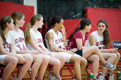 2009-01-23 Basketball Girls JV SJS v EHS