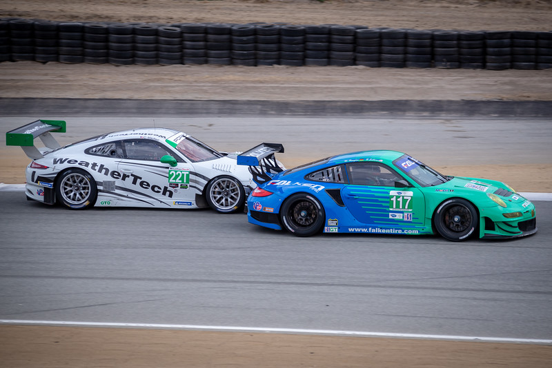 2012 GT3R (left) and GT3 RSR (right).