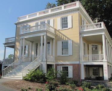 Alexander Hamilton Home * and Grave *