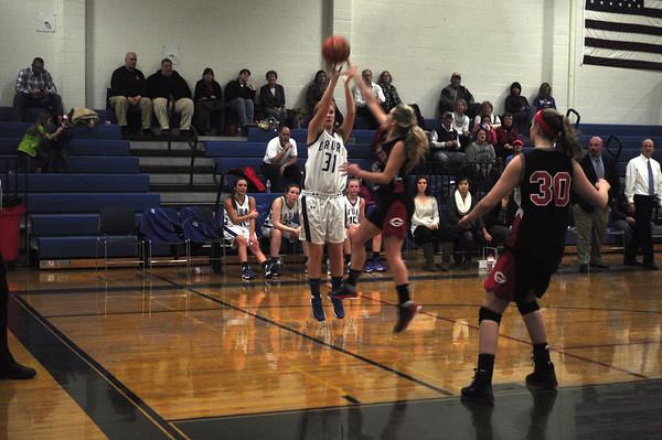 Mount Greylock vs. Drury Girls Basketball - 121313