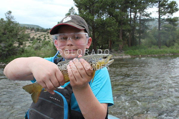 June 16 2018 Upper Colorado River Fly Fishing