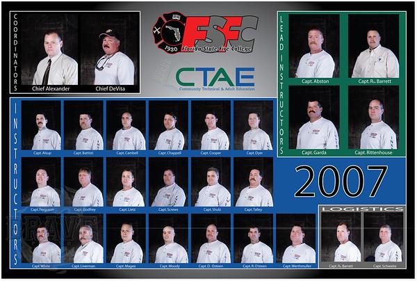 Instructors 2007