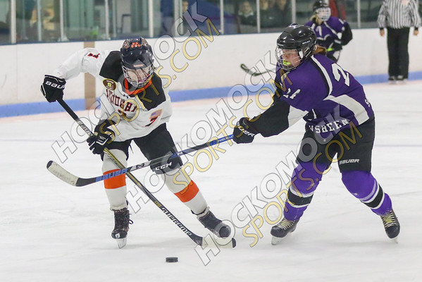 Stoughton/Sharon-Shawsheen Girls Hockey - 01-18-20