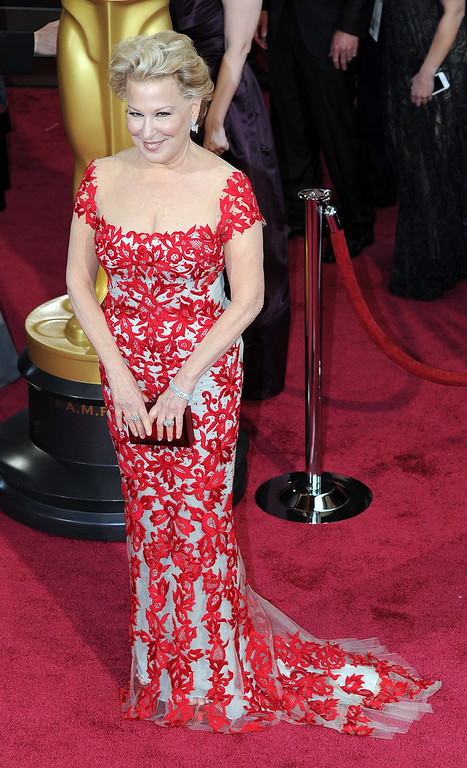 . Bette Midler attends the 86th Academy Awards at the Dolby Theatre in Hollywood, California on Sunday March 2, 2014 (Photo by John McCoy / Los Angeles Daily News)