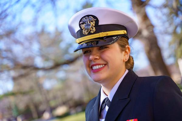 Julie Martin NROTC Commissioning December 2018