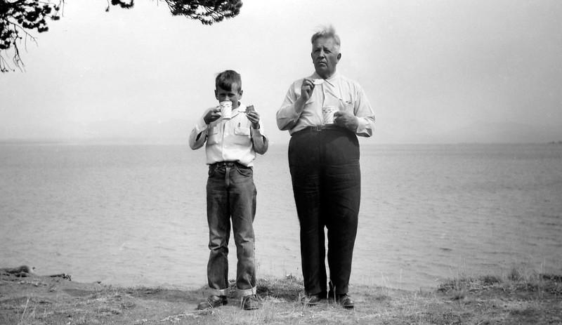 Traveling with Grandpa | Lake Superior
