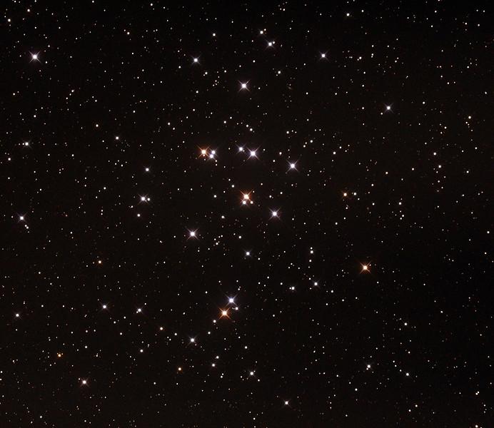 M44 - NGC2632 - Praesepe or Beehive Cluster - 27/12/2014 (Processed cropped stack)